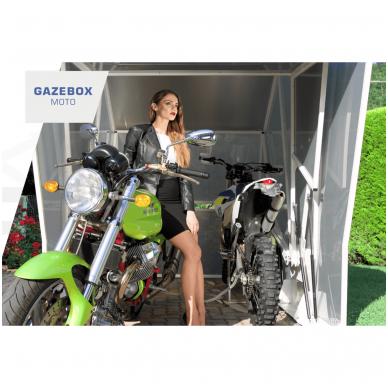 GAZEBOX MOTO Garažas (Stoginė) motociklams 10