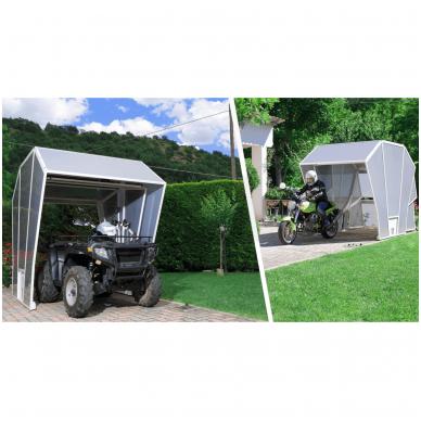 GAZEBOX MOTO Garažas (Stoginė) motociklams 12