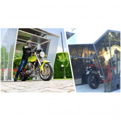 GAZEBOX MOTO Garažas (Stoginė) motociklams 11