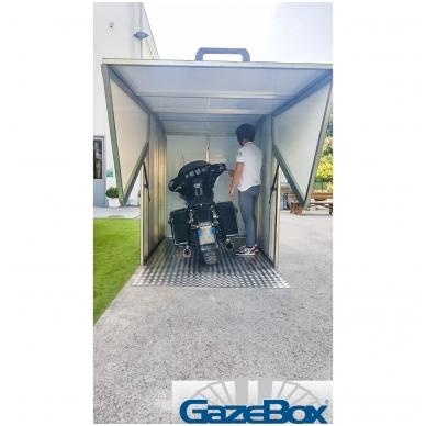 GAZEBOX MOTO Garažas (Stoginė) motociklams 2