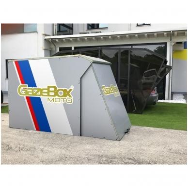 GAZEBOX MOTO Garažas (Stoginė) motociklams 3