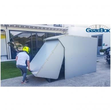 GAZEBOX MOTO Garažas (Stoginė) motociklams