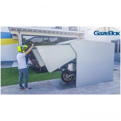 GAZEBOX MOTO Garažas (Stoginė) motociklams 5