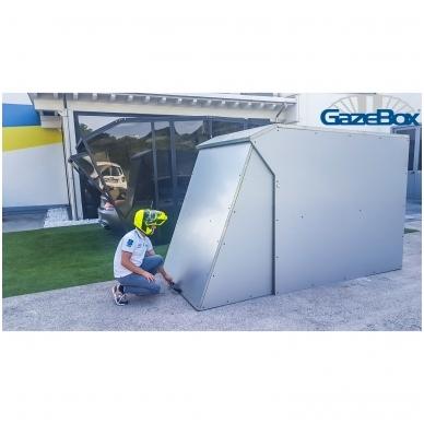GAZEBOX MOTO Garažas (Stoginė) motociklams 6