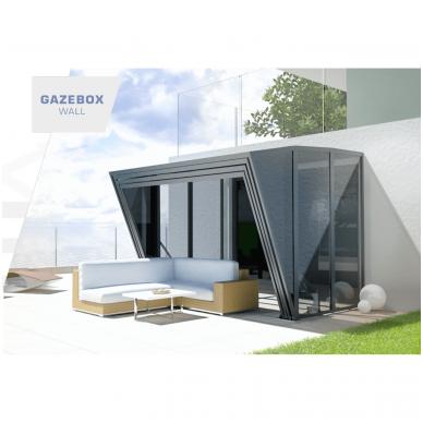 GAZEBOX WALL Stoginė-Terasa iš Italijos