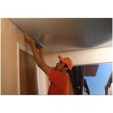 Įtempiamųjų lubų demontavimas (tik plėvelės) 2