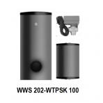 KOMBI 2/RX: Papildomi komponentai šildymui, vėsinimui ir karšto vandens ruošimui KOMBI 2/RX komplektams*