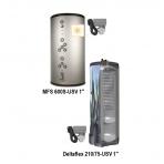 Papildomi komponentai šildymui ir karšto vandens ruošimui KOMBI 2 komplektams
