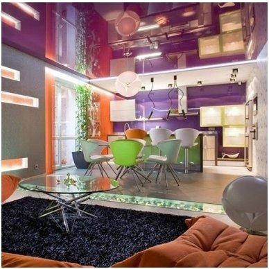 SPALVOTOS LAKUOTOS MSD Premium įtempiamos lubos (iš 320 cm pločio rulono) 3