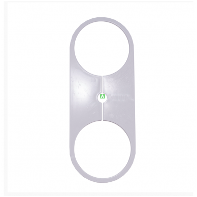 Gartraukio (ventiliacijos) vamzdžio apėjimas (ø105 mm,ø115 mm,ø125) 3